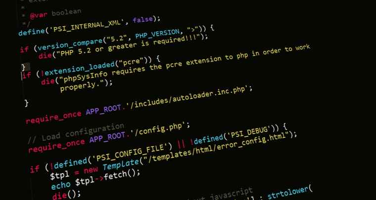 abstract business code coding